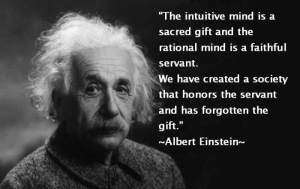 Einstein-intuitive mind